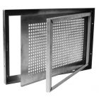 Steel single-sashed coated basement window SD1