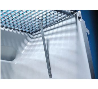 Grating protection for MEA light wells