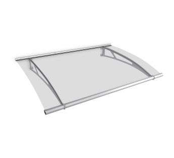 Lightline XL Door Canopy 205 x 142 cm, Acrylic
