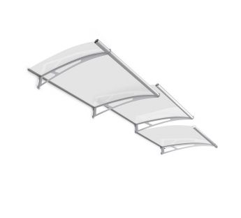 Extendable Lightline L Door Canopy 191,6 x 95 cm, Base module