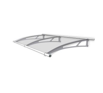 Extendable Lightline XL Door Canopy 287,4 x 142 cm, Base module
