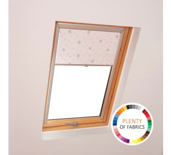 Dekolux black-out skylight roller blind