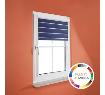 Migotta Day-Night cassette roller blind with PVC guide rails