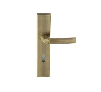 Exterior door lever handle Space K+K