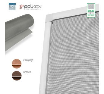 Poll-tex door fly screen - Anti-Allergic, Wood-like