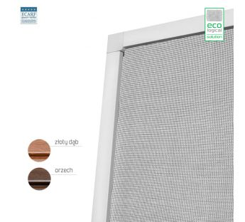 Door fly screen – Wood-like