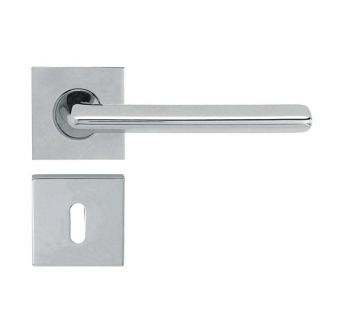 Lever door handle on a square rose 019 Trendy Linea Cali