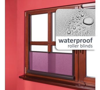 Water resistant Spinella bottom-up cassette roller blind