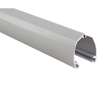 Day and night roller blind - aluminium weight bar