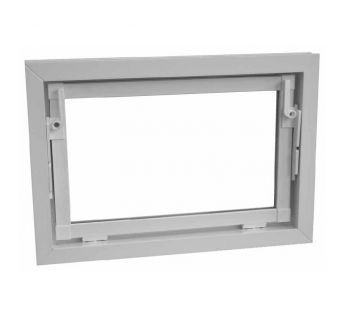 PVC basement window type PLUS  with glazing 5,5 mm