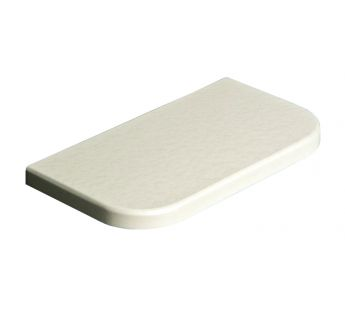 Coated MDF window sill, White Pearl Scale