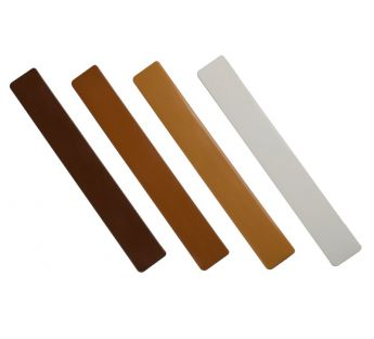 Double-sided caps for Standard PVC renovation internal window sills