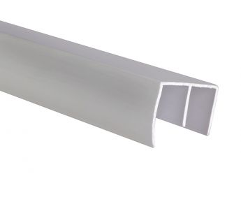 PVC guide rail - duo roller blind