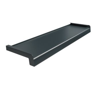 Softline steel window sill, Anthracite Structure