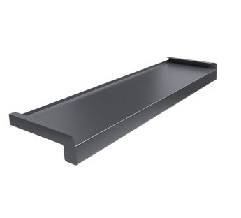 Steel window sill Standard, Anthracite RAL 7024