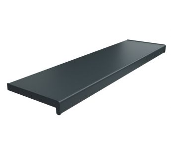 PVC chamber window sill, Anthracite