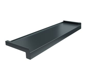 Steel window sill Standard, Anthracite RAL 7016