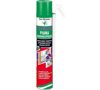 Low expansion caulking foam, Purfoam-PVC