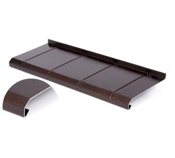 Aluminium tile window sill, Antique Copper 12,5 x 105 cm