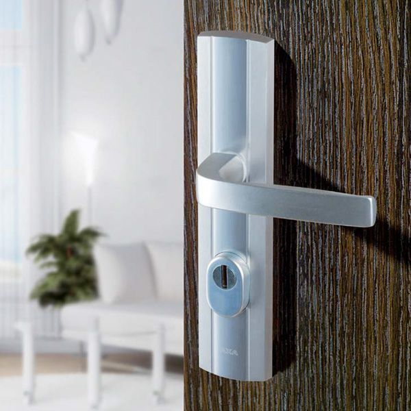 Exterior door handles and knobs