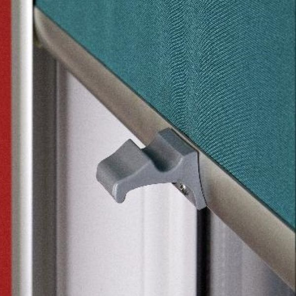Fabrics and components for internal roller blinds