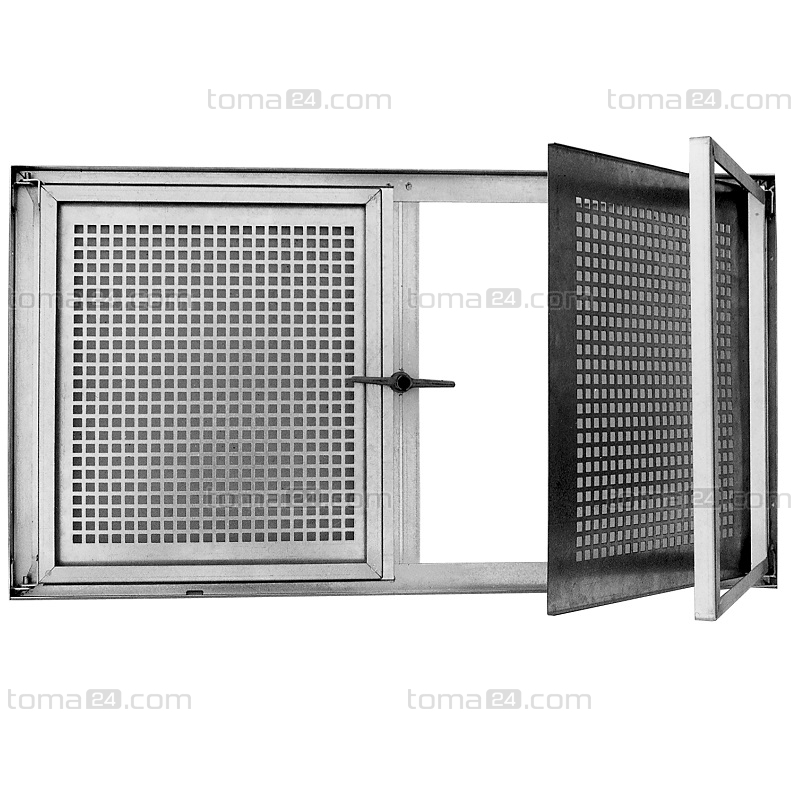 Double casement galvanized basement window sd2 for Double casement windows